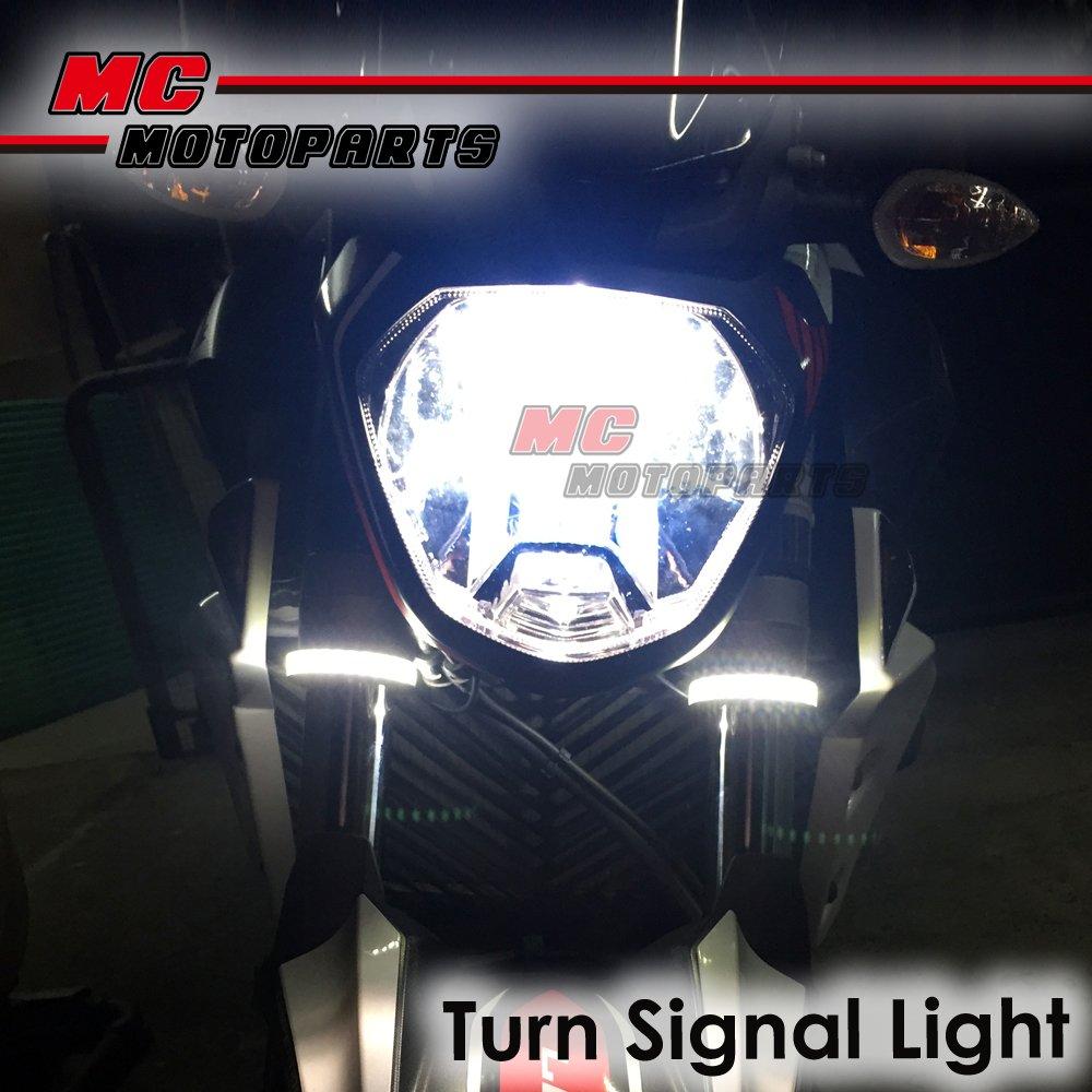 Fork-LED-Riding-Front-Lights-Winker-For-Honda-NC700-S-X-2012-2013