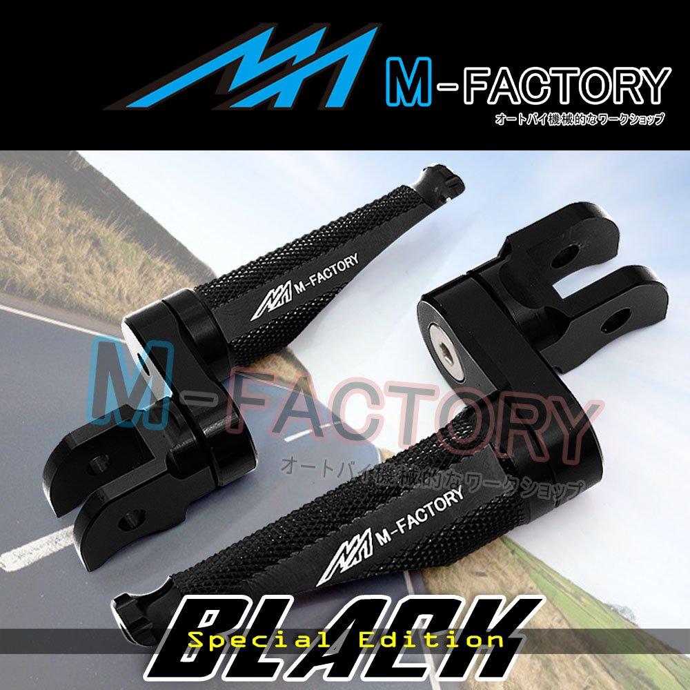 FIT-KTM-2015-RC-250-390-CNC-BLACK-Ed-SHORT-Shinobi-Rear-Footpegs