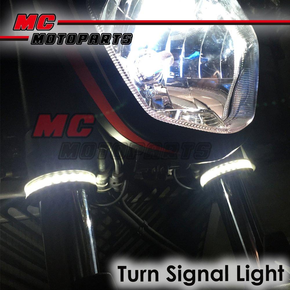 Fork-LED-Riding-Front-Lights-Winker-For-Husqvarna-TCX250-05-10